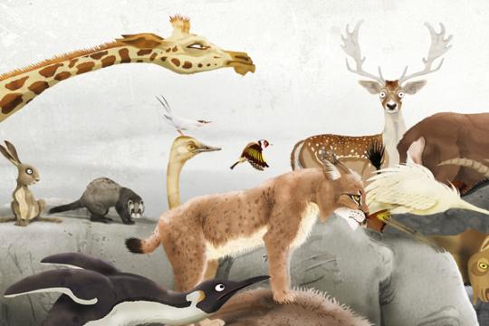 Welk dier schuilt er in jouw kind?