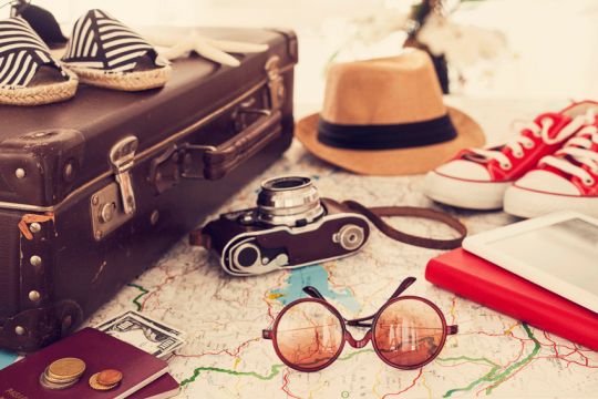 Ik ga op reis en ik neem mee: 4 boeken voor in je koffer