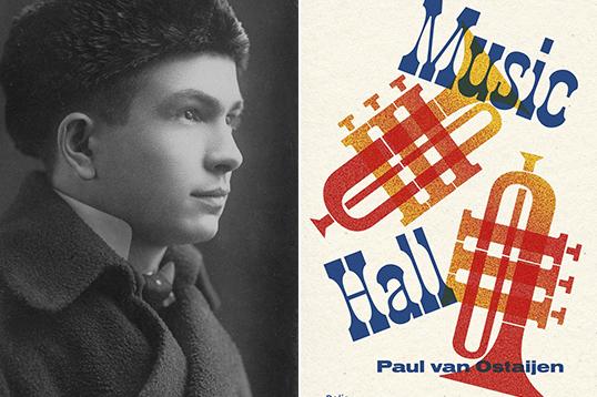 Paul Van Ostaijen signeert op de Boekenbeurs