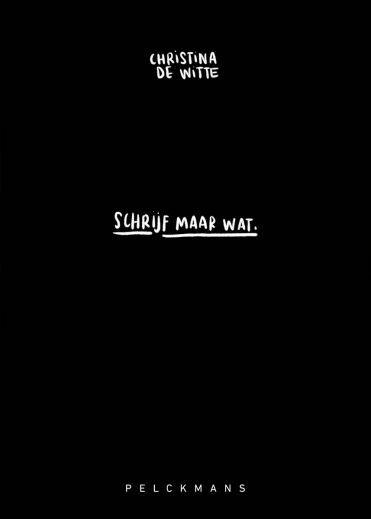 Schrijf maar wat