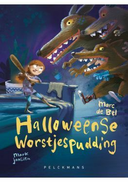Meisjes met pit: Halloweense worstjespudding
