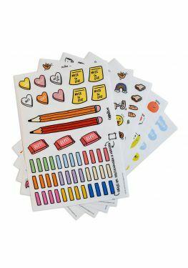 Schrijf maar wat stickers